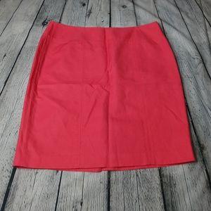 Anne Klein Pink Coral Mini Skirt